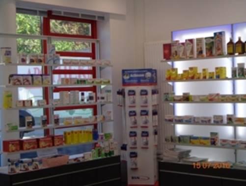 Apotheke Jedlesee in Wien Floridsdorf - Innenansicht
