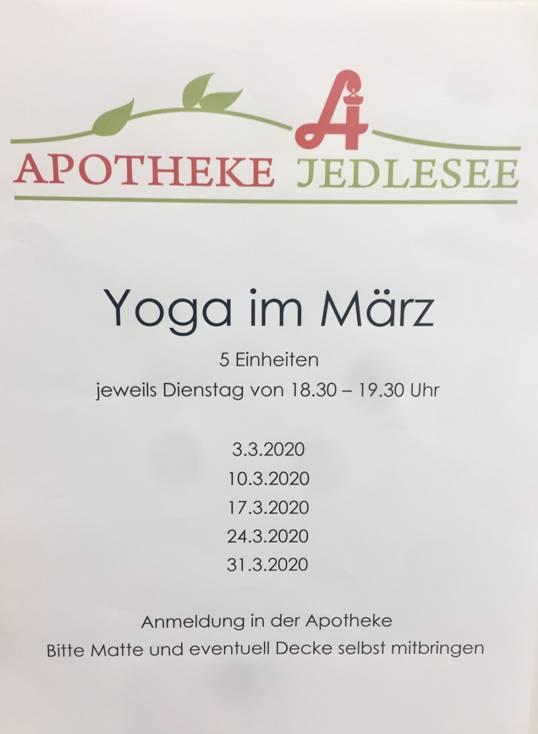 Yoga Wien - Apotheke Jedlesee