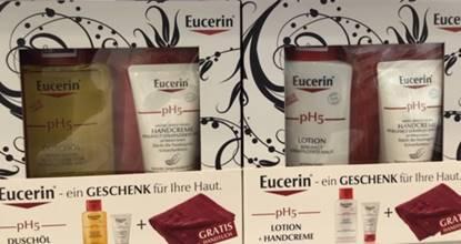 Eucerin Hautpflegeprodukte in der Apotheke Jedlesee Wien