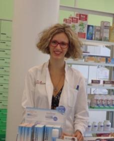 Mag. pharm. Melina Tindl, BSc - Mitarbeiterin in der Apotheke Jedlesee in Wien Floridsdorf