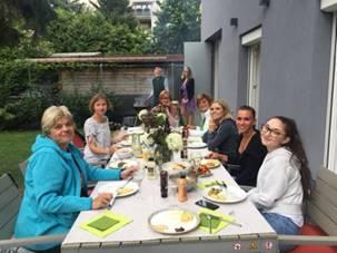 Grillfest der Apotheke Jedlesee im 21. Wiener Gemeindebezirk