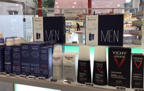 Männerpflege Produkte aus der Apotheke Wien